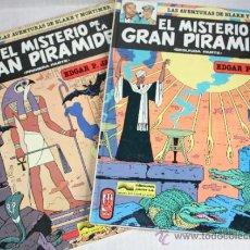 Cómics: LAS AVENTURAS DE BLAKE Y MORTIMER : EL MISTERIO DE LA PIRÁMIDE(COMPLETA EN 2 TOMOS).. Lote 31307498