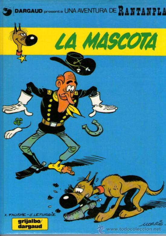 RANTANPLÁN (PERRO DE LUCKY LUKE) - Nº 1 - EN CATALÁN - LA MASCOTA - GRIJALBO 1988 - BIEN CONSERVADO (Tebeos y Comics - Grijalbo - Otros)