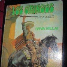 Cómics: LOS GRINGOS Nº 2 VIVA VILLA. TAPA DURA GRIJALBO. EDICIONES JUNIOR.. Lote 31562466