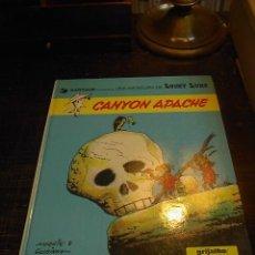 Cómics: LUCKY LUKE, GRIJALBO, CANYON APACHE, Nº 17. Lote 31576944