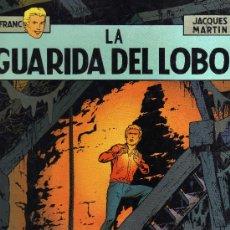 Cómics: LEFRANC Nº4 (JACQUES MARTIN): LA GUARIDA DEL LOBO. Lote 31580207