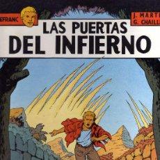Cómics: LEFRANC Nº5 (JACQUES MARTIN): LAS PUERTAS DEL INFIERNO. Lote 31580307