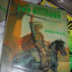 Cómics: LOS GRINGOS Nº 2 VIVA VILLA. TAPA RUSTICA. GRIJALBO. EDICIONES JUNIOR. . Lote 31601059