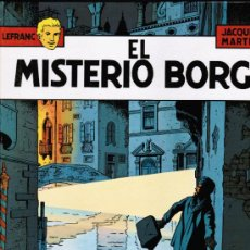 Cómics: LEFRANC Nº 3 - JACQUES MARTIN - EL MISTERIO BORG - GRIJALBO - TAPA DURA. Lote 31720901