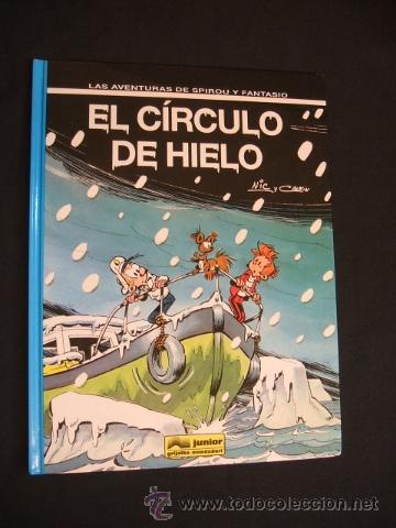 SPIROU Y FANTASIO - Nº 42 - EL CIRCULO DE HIELO - JUNIOR - GRIJALBO MONDADORI - (Tebeos y Comics - Grijalbo - Spirou)