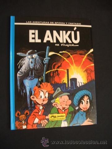 SPIROU Y FANTASIO - Nº 39 - EL ANKÚ - JUNIOR - GRIJALBO MONDADORI - (Tebeos y Comics - Grijalbo - Spirou)
