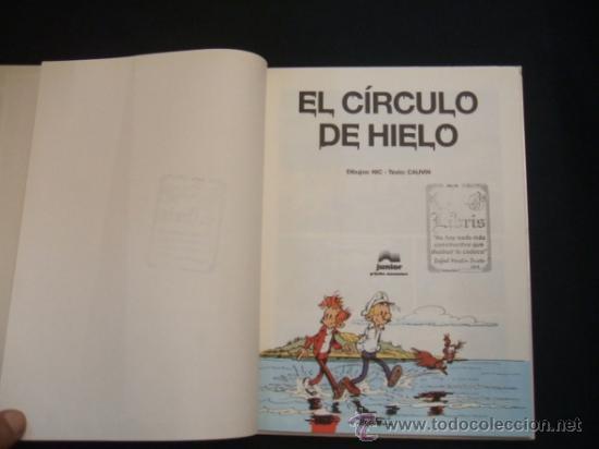 Cómics: SPIROU Y FANTASIO - Nº 42 - EL CIRCULO DE HIELO - JUNIOR - GRIJALBO MONDADORI - - Foto 3 - 31842110