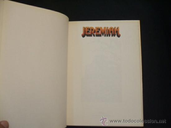 Cómics: JEREMIAH - Nº 14 - SIMON HA VUELTO - HERMANN - GRIJALBO - MONDADORI - - Foto 3 - 31877110