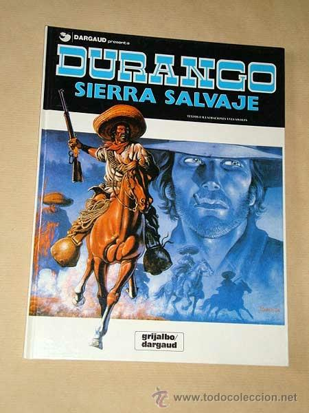 DURANGO Nº 5. SIERRA SALVAJE. YVES SWOLFS. GRIJALBO, DARGAUD, 1989. +++ (Tebeos y Comics - Grijalbo - Durango)