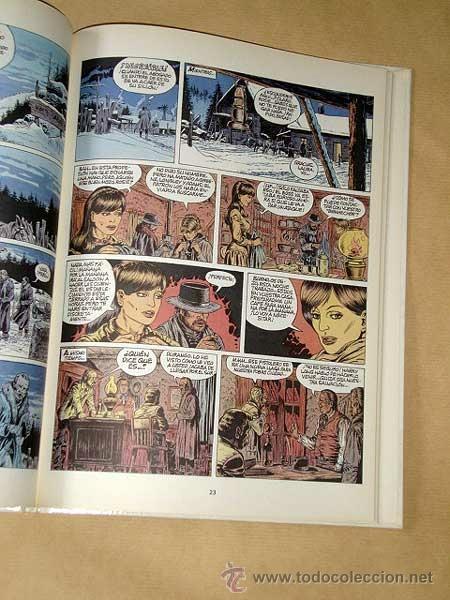 Cómics: DURANGO Nº 1. LOS PERROS MUEREN EN INVIERNO. YVES SWOLFS. GRIJALBO, DARGAUD, 1989. +++ - Foto 2 - 31912516