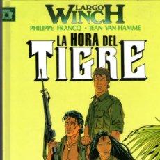 Cómics: LARGO WINCH - Nº 8 - LA HORA DEL TIGRE - EDITORIAL JUNIOR-GRIJALBO - 1997 - TAPA DURA - COMO NUEVO. Lote 31953621