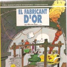 Cómics: LES AVENTURES D´ESPIRU I FANTASTIC : EL FABRICANT D´OR . Lote 31988016