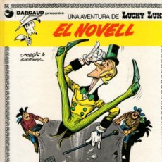 Cómics: LUCKY LUKE - EN CATALÁN - Nº 4 - EL NOVELL - DE MORRIS & GOSCINNY - ED. GRIJALBO-DARGAUD - 1991.. Lote 32068607