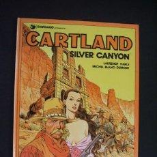 Cómics: CARTLAND - Nº 6 - SILVER CANYON - GRIJALBO - DARGAUD - . Lote 32129322