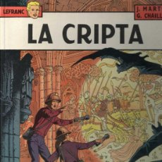 Cómics: LEFRANC Nº 9. LA CRIPTA. JACQUES MARTIN. GRIJALBO. TAPA DURA. Lote 32266739