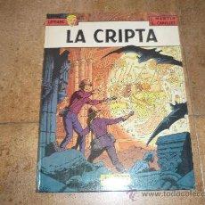 Cómics: LEFRANC Nº 9. LA CRIPTA. JACQUES MARTIN. GRIJALBO. TAPA DURA. Lote 32304529