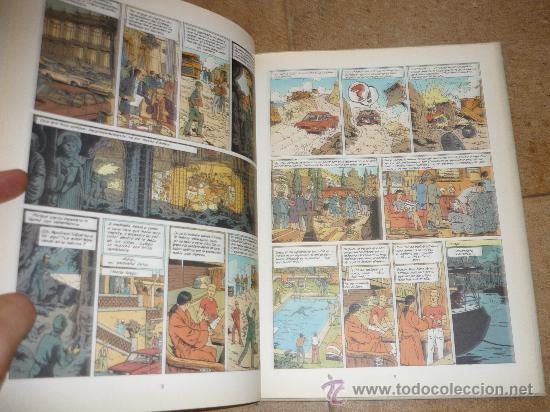Cómics: LEFRANC Nº 9. LA CRIPTA. JACQUES MARTIN. GRIJALBO. TAPA DURA - Foto 5 - 32304529