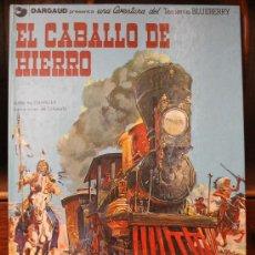 Cómics: TENIENTE BLUEBERRY – GRIJALBO/DARGAUD – TOMO Nº 3: EL CABALLO DE HIERRO. Lote 32329715