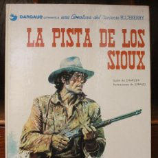 Cómics: TENIENTE BLUEBERRY – GRIJALBO/DARGAUD – TOMO Nº 5: LA PISTA DE LOS SIOUX. Lote 32330002