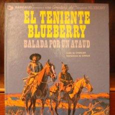 Cómics: TENIENTE BLUEBERRY – GRIJALBO/DARGAUD – TOMO Nº 9: EL TENIENTE BLUEBERRY – BALADA POR UN ATAUD. Lote 32332831