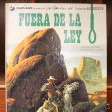 Cómics: TENIENTE BLUEBERRY – GRIJALBO/DARGAUD – TOMO Nº 10: FUERA DE LA LEY. Lote 32332999