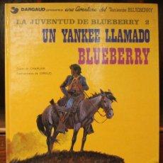 Cómics: TENIENTE BLUEBERRY – GRIJALBO/DARGAUD – TOMO Nº 13: UN YANKEE LLAMADO BLUEBERRY. Lote 32333414