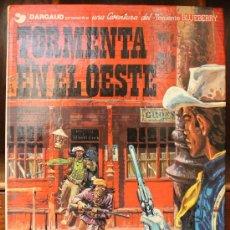 Cómics: TENIENTE BLUEBERRY – GRIJALBO/DARGAUD – TOMO Nº 17: TORMENTA EN EL OESTE. Lote 32334077