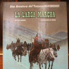 Cómics: TENIENTE BLUEBERRY – GRIJALBO/DARGAUD – TOMO Nº 20: LA LARGA MARCHA. Lote 32336008