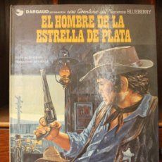 Cómics: TENIENTE BLUEBERRY – GRIJALBO/DARGAUD – TOMO Nº 23: EL HOMBRE DE LA ESTRELLA DE PLATA. Lote 32336053