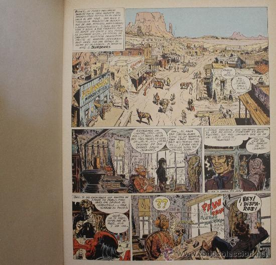 Cómics: TENIENTE BLUEBERRY – GRIJALBO/DARGAUD – TOMO Nº 23: EL HOMBRE DE LA ESTRELLA DE PLATA - Foto 3 - 32336053