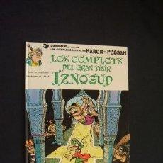 Cómics: LAS AVENTURAS DEL CALIFA HARUN EL PUSSAH - Nº 10 - LOS COMPLOTS DEL GRAN VISIR IZNOGUD - GRIJALBO - . Lote 32394702