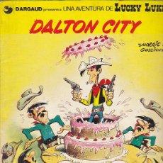 Cómics: COMIC RUSTICA LUCKY LUKE DALTON CITY. Lote 32422192