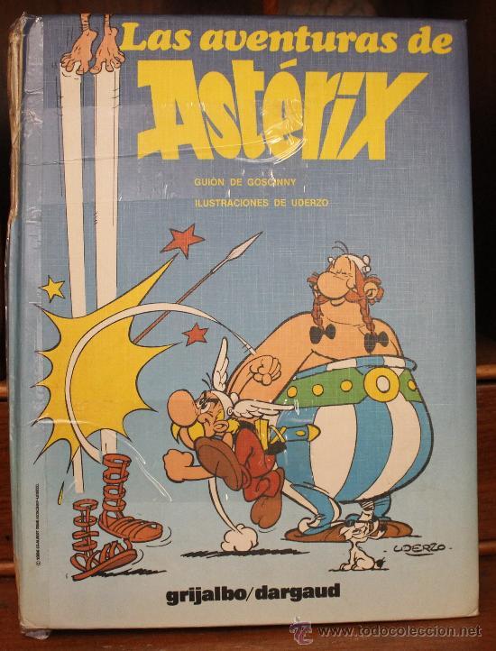LAS AVENTURAS DE AXTERIX – TOMO Nº 2 – TAPA DURA – EDITORIAL GRIJALBO/DARGAUD (Tebeos y Comics - Grijalbo - Asterix)