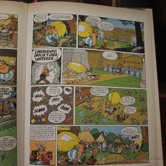 Cómics: LAS AVENTURAS DE AXTERIX – TOMO Nº 2 – TAPA DURA – EDITORIAL GRIJALBO/DARGAUD - Foto 4 - 32647467