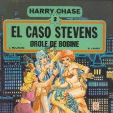 Cómics: HARRY CHASE Nº 2. EL CASO STEVENS.. Lote 32734139