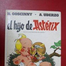 Cómics: UNA AVENTURA DE ASTERIX: EL HIJO DE ASTERIX, EDICIONES JUNIOR/ GRIJALBO 1983. Lote 32779591