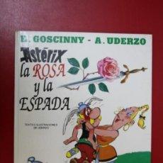 Cómics: UNA AVENTURA DE ASTERIX: ASTERIX LA ROSA Y LA ESPADA, EDICIONES JUNIOR/ GRIJALBO 1991. Lote 32779685