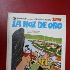 Cómics: UNA AVENTURA DE ASTERIX: LA HOZ DE ORO, EDICIONES JUNIOR/ GRIJALBO 1983. Lote 32779845