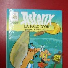 Cómics: UNA AVENTURA DE ASTERIX, EN CATALÁN E INGLES: LA FALÇ D'OR, GRIJALBO - DARGAUD 1996. Lote 32780486