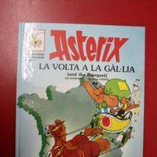 Cómics: UNA AVENTURA DE ASTERIX, EN CATALÁN E INGLES: ASTERIX LA VOLTA A LA GAL·LIA, GRIJALBO- DARGAUD 1996. Lote 32780617