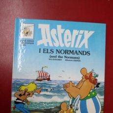 Cómics: UNA AVENTURA DE ASTERIX, EN CATALÁN E INGLES: ASTERIX I ELS NORMANDS, GRIJALBO- DARGAUD 1996. Lote 32780748