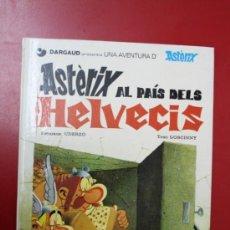 Cómics: UNA AVENTURA DE ASTERIX, EDICIÓN EN CATALÁN: ASTERIX AL PAIS DELS HELVECIS, GRIJALBO/ DARGAUD 1984. Lote 32780950
