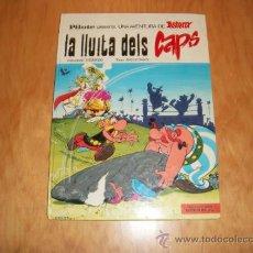 Cómics: ASTERIX LA LLUITA DELS CAPS EN VALENCIANO EDITORIAL MAS IVARS VALENCIA 1976 TAPA DURA. Lote 32907734