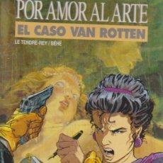 Cómics: POR AMOR AL ARTE. EL CASO VAN ROTTEN. GRIJALBO.. Lote 32812767