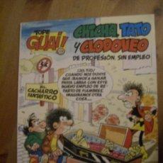 Cómics: TOPE GUAI Nº 07. CHICHA, TATO Y CLODOVEO. EL CACHARRO FANTÁSTICO. GRIJALBO, 1987.. Lote 32831809