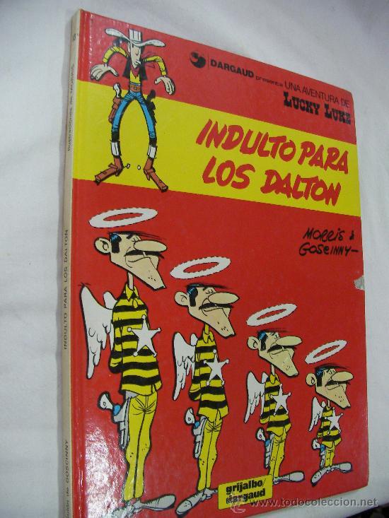 INDULTO PARA LOS DALTON - LUCKY LUKE - TAPA DURA - ENVIO GRATIS ESPAÑA (Tebeos y Comics - Grijalbo - Lucky Luke)