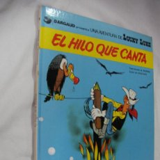 Cómics: EL HILO QUE CANTA - LUCKY LUKE - TAPA DURA - ENVIO GRATIS A ESPAÑA. Lote 33004631