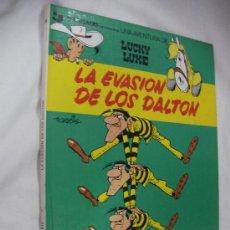 Cómics: LA EVASION DE LOS DALTON - LUCKY LUKE - TAPA DURA. Lote 33004701