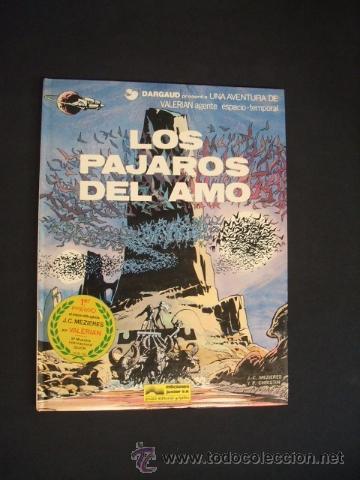 VALERIAN - Nº 4 - LOS PAJAROS DEL AMO - GRIJALBO - (Tebeos y Comics - Grijalbo - Valerian)
