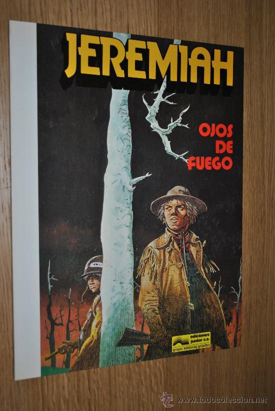 JEREMIAH.OJOS DE FUEGO.(HERMANN) (Tebeos y Comics - Grijalbo - Jeremiah)